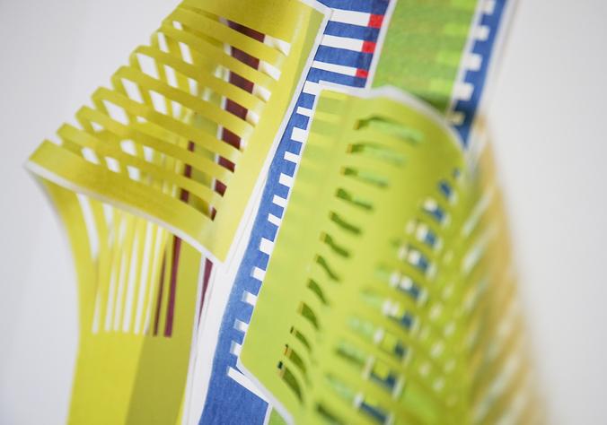 unterwegs gehalten Detail - Katharina Fischborn