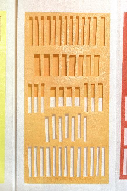 Detail aus Installation Widerspiel - Katharina Fischborn - Foto: Gerhard Schmitt