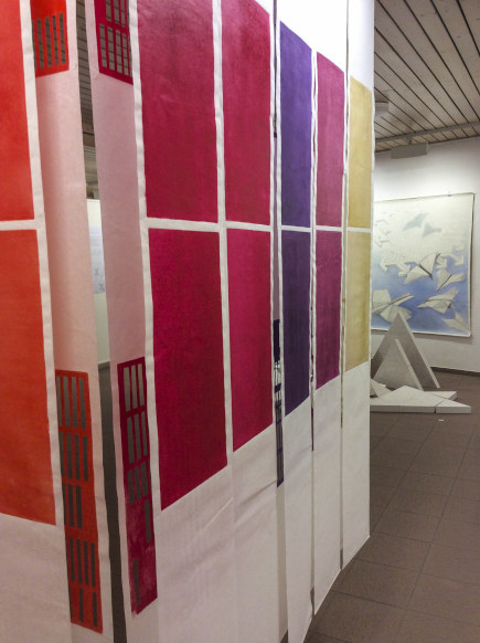 Installation Widerspiel - Katharina Fischborn - Foto: Katharina Fischborn
