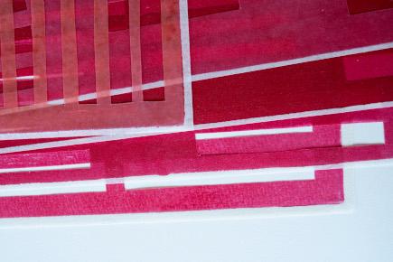 Detail aus gefächert - Katharina Fischborn, 2021 - Foto: Artur Eurich