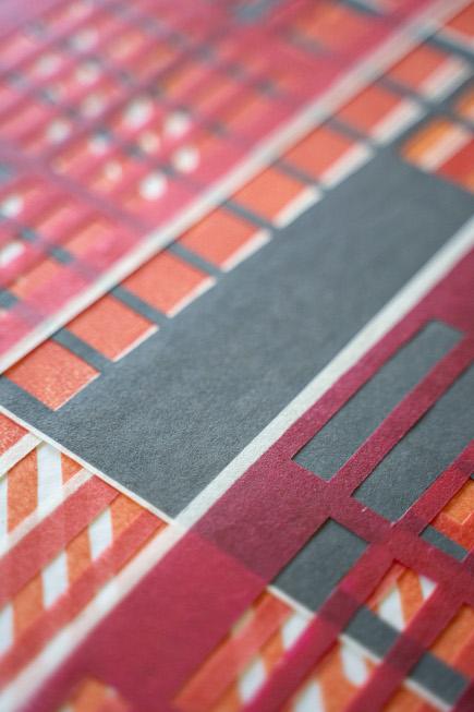 Detail aus Schichtung I - Katharina Fischborn - Foto: Artur Eurich